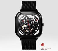Часы Xiaomi CIGA Design  Automatic full hollow mechanical watches Black механические часы с автоподзаводом