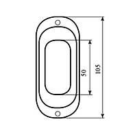 Ручка для раздвижной двери Comit 31003-S91MM полированная латунь