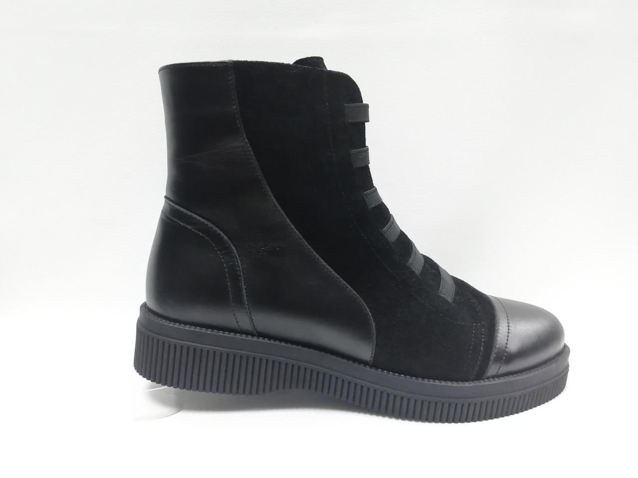 Зимние ботинки.  Большие размеры (41 - 43). Украина.
