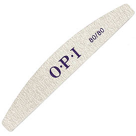Пилочка OPI полукруг серая 80/80, 18 см