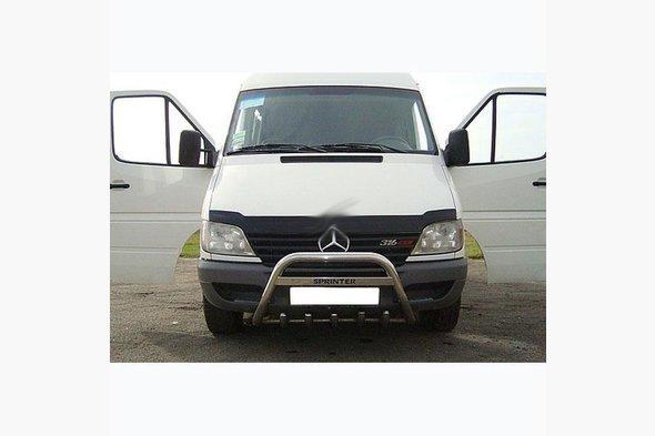 Кенгурятник WT004 (нерж.) - Mercedes Sprinter 1995-2006 гг.