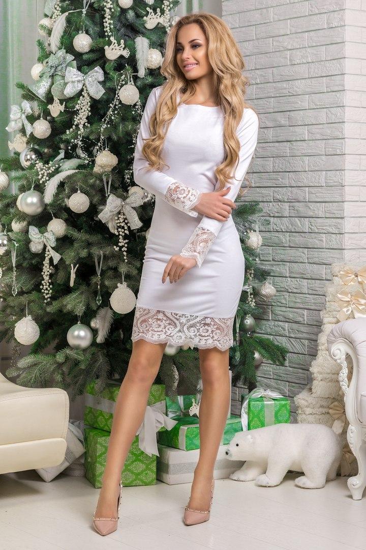 Сукня Amаlia, облягаючого крою, декор мереживо