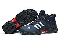Зимние кроссовки на меху Adidas Climaproof, темно-синий (30762), р.  [  44 (последняя пара)  ]