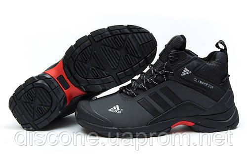 Зимние кроссовки на меху Adidas Climaproof, серые (30765), р.  [  42 43  ]