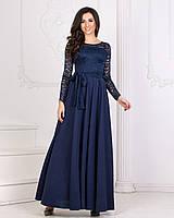 Вечерние длинное платье с411632 (50-56), фото 1