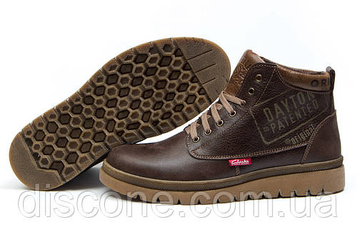 Зимние ботинки Clarks Urban Tribe, коричневые (30781), р.  [  43 (последняя пара)  ]