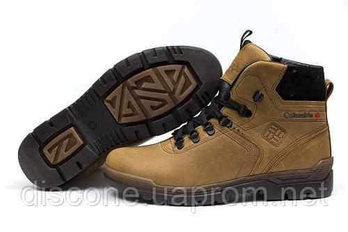 Зимние ботинки на меху Columbia Chinook Boot WP, коричневые (30532), р.  [  42 43 44  ]