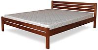 Кровать полуторная с натурального дерева в спальню ТИС КЛАСИКА  120*190 сосна