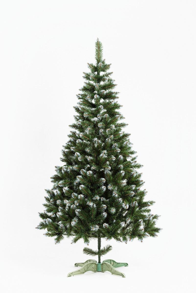 Елка искусственная Bonita 2.1 м Анастасия зеленая с белыми кончиками ЯША-БК-2,10
