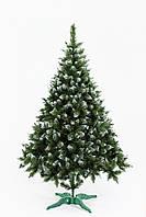 Елка искусственная Bonita 2.5 м Рождественская зеленая с белыми кончиками ЯШР-БК-2,50