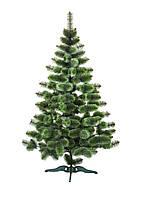 Сосна искусственная Bonita 1.5 м Новогодняя зеленая с белыми кончиками СШ-БК-1,50, фото 1