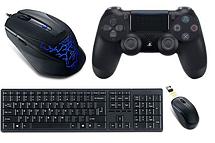 Комп'ютерна периферія: мишки, клавіатури, джойстики, килимки