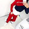 Молодежный теплый спортивный костюм с начесом женский: штаны и кофта со змейкой на вороте стойке, фото 4