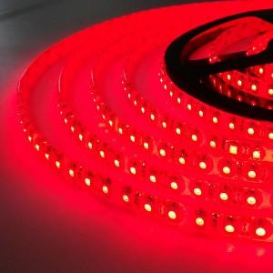 Светодиодная лента B-LED 3528-120 IP20, негерметичная, красная