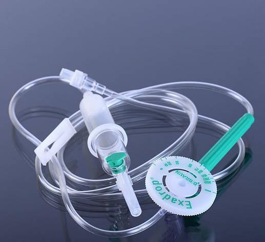 Набір для інфузії Exadrop® Neutrapur з Intrafix® Air та повітряною вентиляцією, без ПВХ, 150 см, фото 2