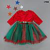 Нарядное новогоднее платье для девочки. 3 года
