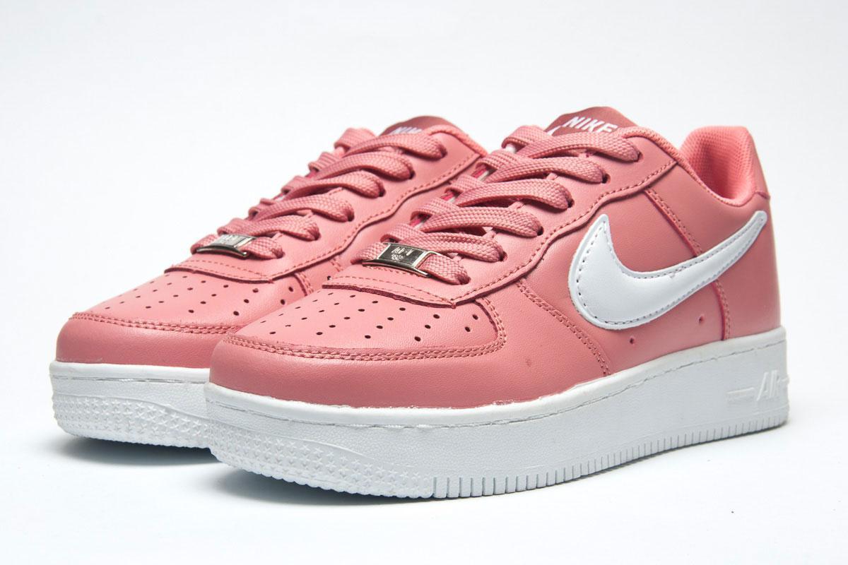 7d0aeae7 Кроссовки женские Nike Air Force, розовые (11311) размеры в наличии ▻ [ 39