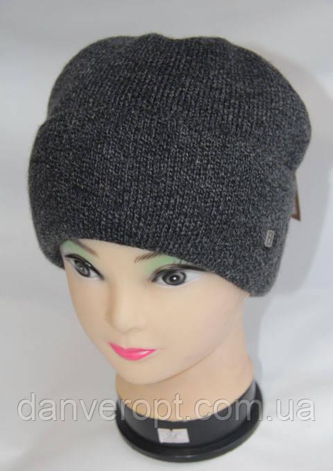 шапка мужская модная стильная вязаная размер 56 58 см купить оптом