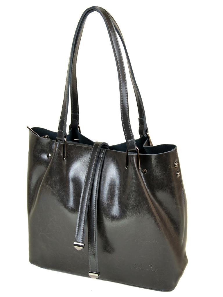 Сумка Женская Классическая кожа ALEX RAI 10-03 317 grey