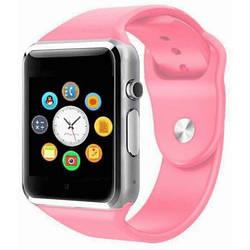 ОРИГИНАЛЬНЫЕ СМАРТ ЧАСЫ SMART WATCH A1 , копия Apple Watch Розовый