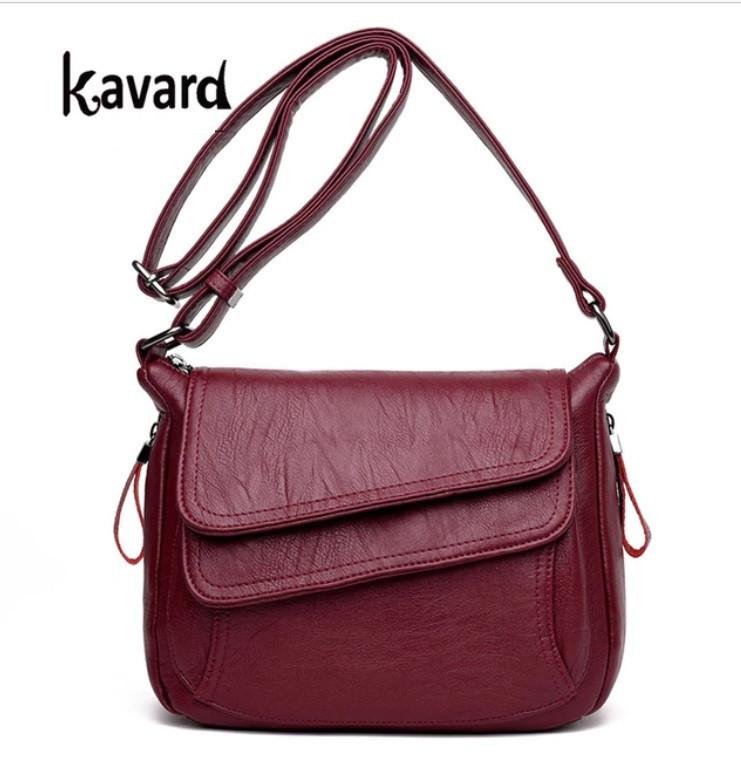 2c31a77c1ed7 Кожаная женская сумка на плечо Kavard 4 цвета !: продажа, цена в ...