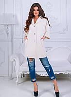 Женское пальто с широкими 3/4 рукавами, фото 1