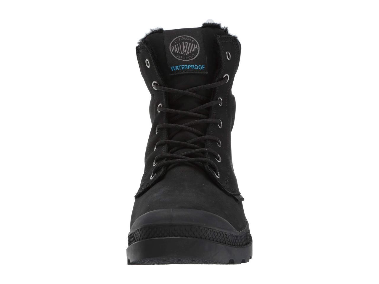 Ботинки Сапоги (Оригинал) Palladium Pampa Sport Cuff WPS Black Black ... e6164a04777e2