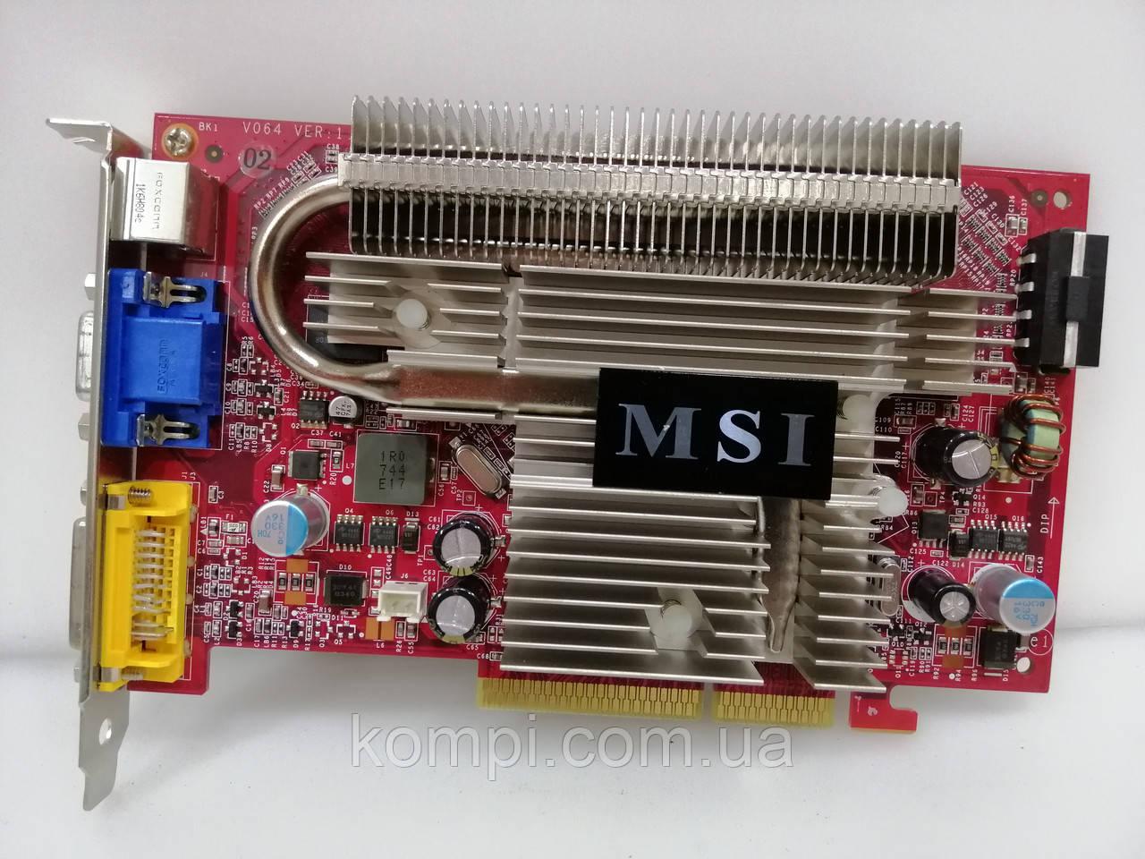 Видеокарта NVIDIA 7600GS 512MB  AGP