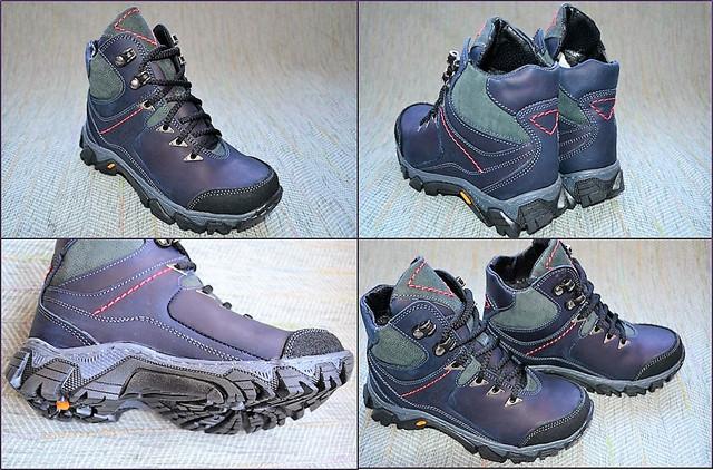 Зимние ботинки на мальчика Dexfer 7051 blue