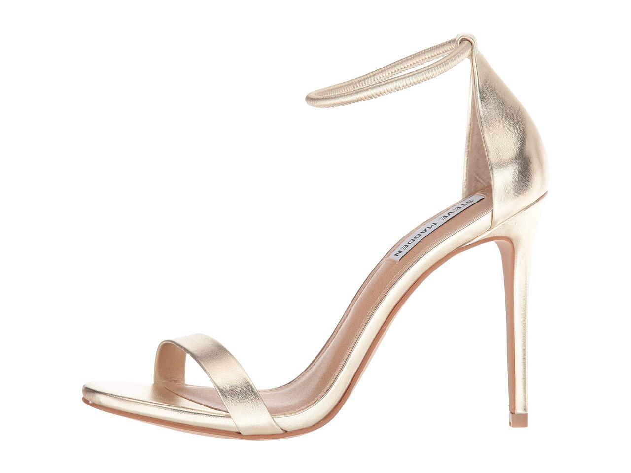 3658a8a4c35 ... Туфли на каблуке (Оригинал) Steve Madden Soph Heeled Sandal Champagne