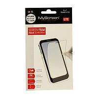 Защитная пленка MyScreen Lite Crystal для Prestigio MultiPhone 4500 DUO (глянцевая) (Престижио 4500 дуо, мультифон 4500 дуо)