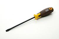 Отвертка композитая, вороненная CrV SL6x150