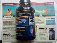 Хондропротектор Puritan's Pride Double Strength Glucosamine Chondroitin msm 480 таб