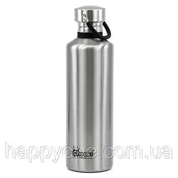 Бутылка для воды Cheeki Classic Single Wall Silver (750 мл)