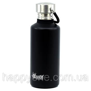 Бутылка для воды Cheeki Classic Single Wall Matte Black (500 мл)