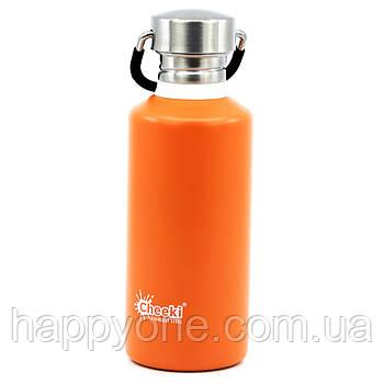Бутылка для воды Cheeki Classic Single Wall Orange (500 мл)