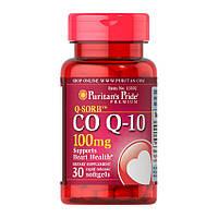 Кофермент,Q-10, Puritan's Pride Co Q-10 100 mg 30 Softgels