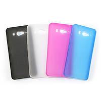 Тонкая пластиковая накладка для Xiaomi Mi2 (Сяоми (Ксиаоми, Хиаоми) Ми2, Ми 2, Ми2с, Ми 2с, Ми 2 с)