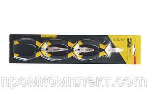 Набор губцевого инструмента малого обрезиненный СИЛА