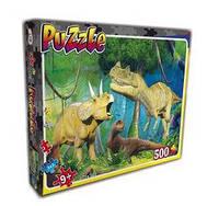 """Пазли 22203 (10 шт) Лео, """"Динозаври"""", в кор-ці, 33-27,5-5,5см"""