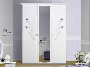 Шафа (шкаф) з ДСП/МДФ в спальню/вітальню/дитячу Лулу 3Д Миро-Марк