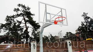 Баскетбольная стойка стационарная