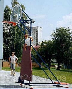 Стритбаскетбольная стойка уличная разборная
