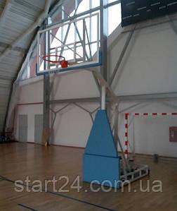 Баскетбольна стійка мобільна складна тренувальна