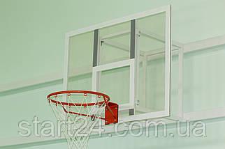 Баскетбольний щит 1000х800 мм (оргскло 8 мм) + кільце та сітка