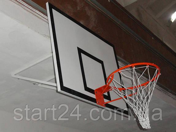 Баскетбольный щит 1000х800 мм игровой, фото 2