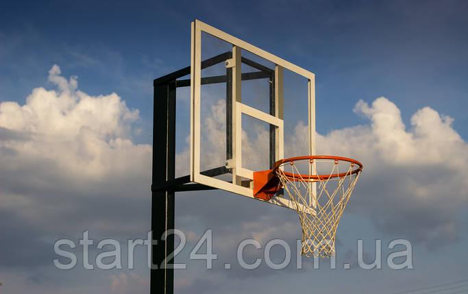 Баскетбольный щит 1200х900 мм тренировочный, фото 2