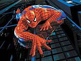 Маскарадный костюм spider man/Спайдермен/Человек-паук синий (размер S), фото 3