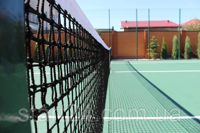 Сетка для большого тенниса 4,5 мм профессиональная, фото 2