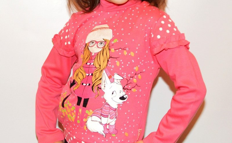Гольфик стойка детский на девочку начес 104-128 - Интернет бутик женской и детской одежды, обуви от производителя Quick Shop в Одессе